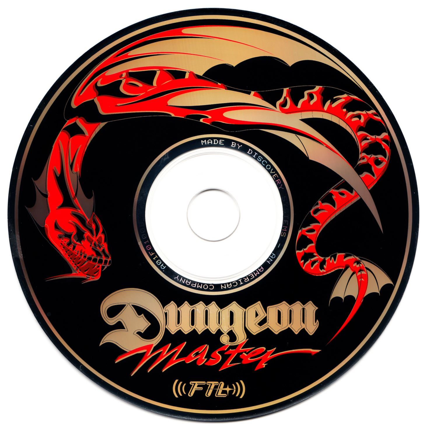 Audio CD - Dungeon Master The Album - US - Compact Disc - Front - Scan