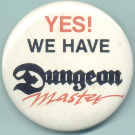Badge - Dungeon Master - Front - Photo