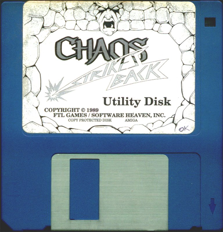 Chaos Strikes Back for Amiga - Utility disk