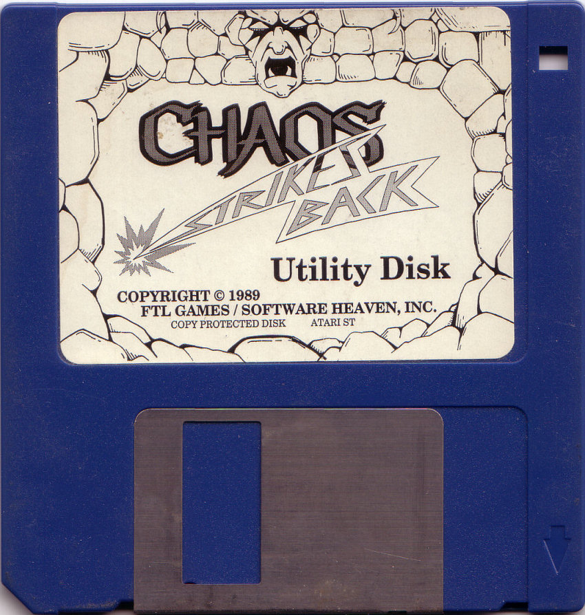 Chaos Strikes Back for Atari ST Utility disk
