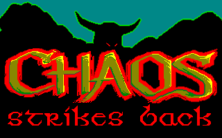 Chaos Strikes for Amiga 3.1 English, French, German / 3.3 English, French, German / 3.5 English, French, German / Utility Disk English - Title