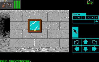 Chaos Strikes Back for Atari ST Screenshot - In game