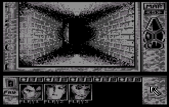 Dungeon Master for Commodore 64