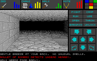Dungeon Master for Atari ST - Teaser Demo Screenshot 05