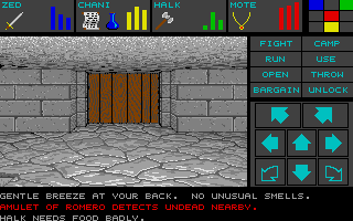 Dungeon Master for Atari ST - Teaser Demo Screenshot 07