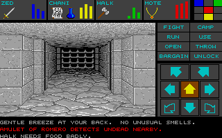 Dungeon Master for Atari ST - Teaser Demo Screenshot 09
