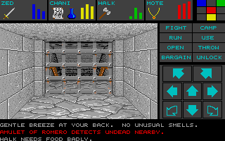 Dungeon Master for Atari ST - Teaser Demo Screenshot 11