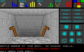 Dungeon Master for Atari ST - Teaser Demo Screenshot 12