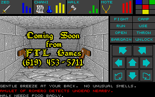 Dungeon Master for Atari ST - Teaser Demo Screenshot 13