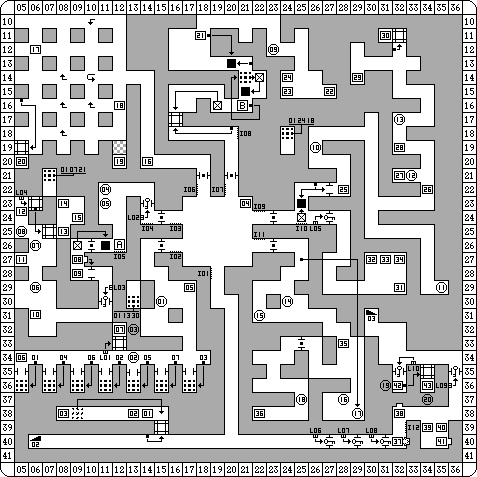 Dungeon Master for PC Map - Level 02