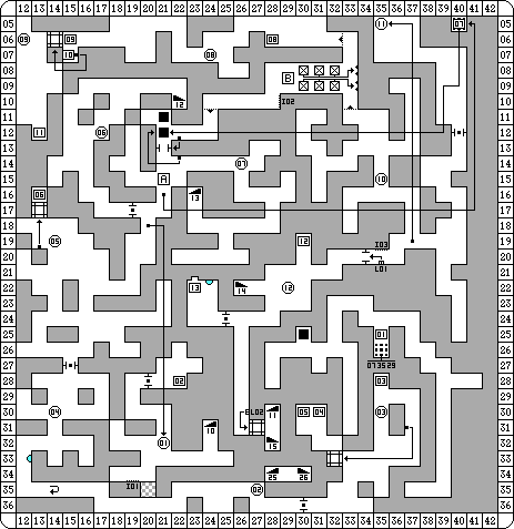 Dungeon Master for PC Map - Level 08