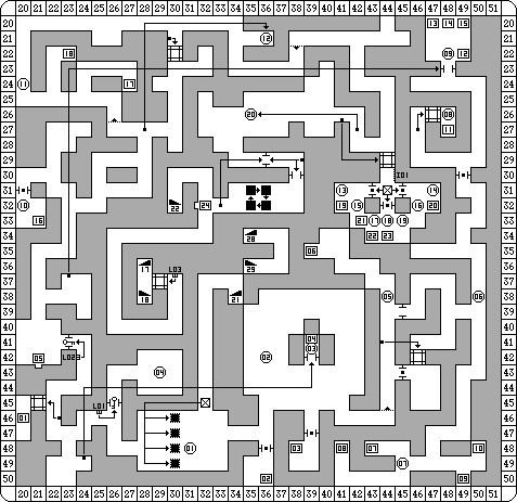 Dungeon Master for PC Map - Level 11