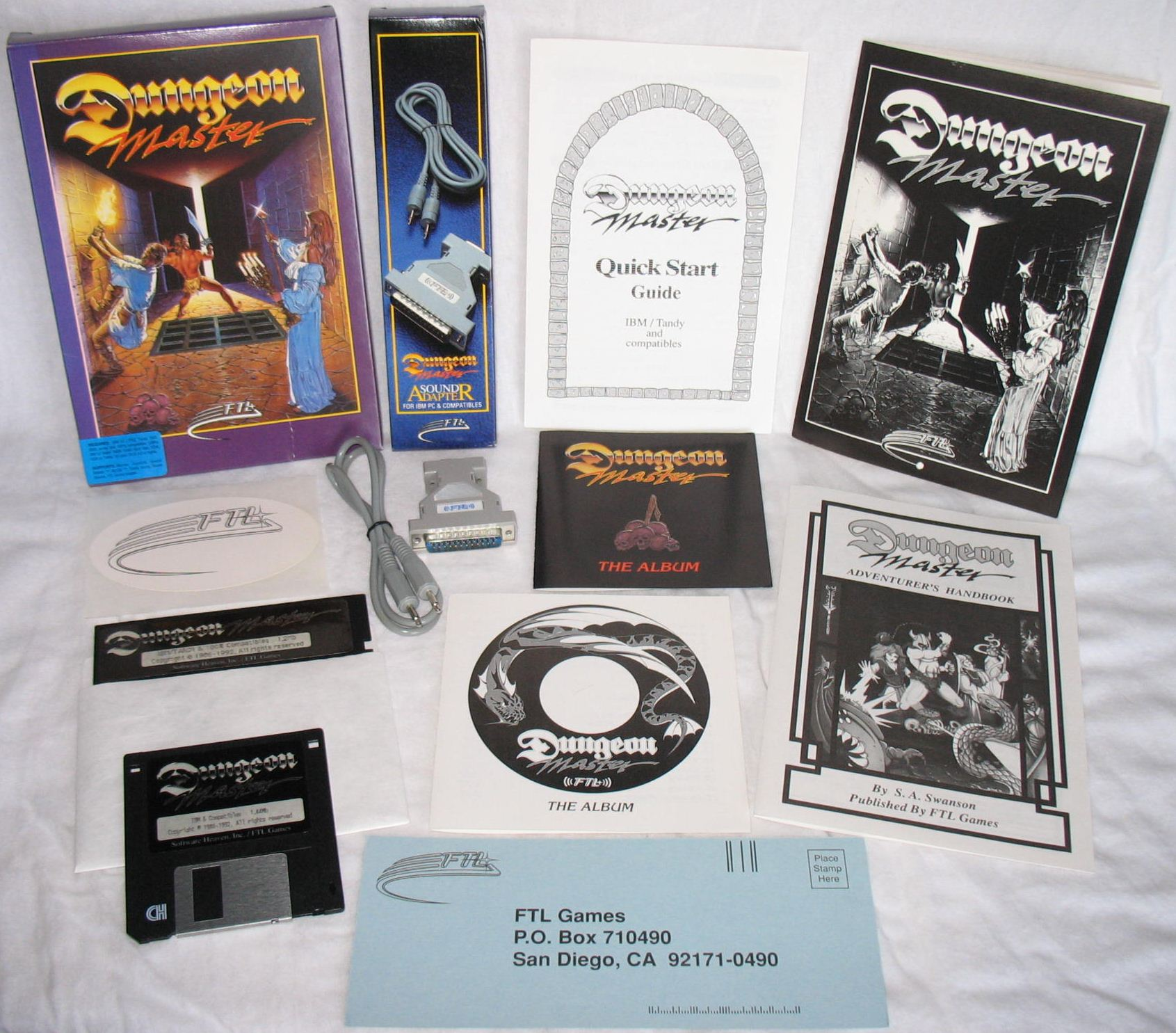 Dungeon Master for PC with FTL Sound Adapter (US Release) - Overview