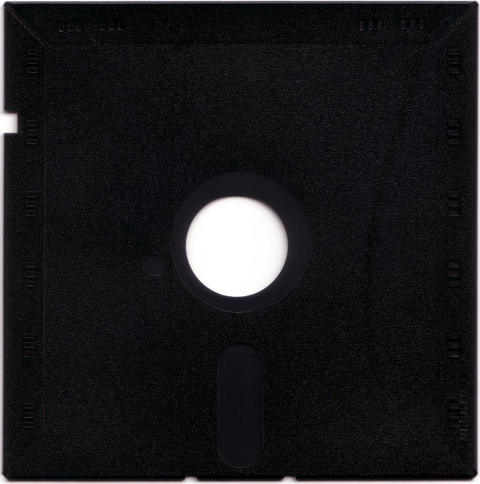 """Dungeon Master for PC with FTL Sound Adapter (US Release) - Floppy Disk 5.25"""" Back"""