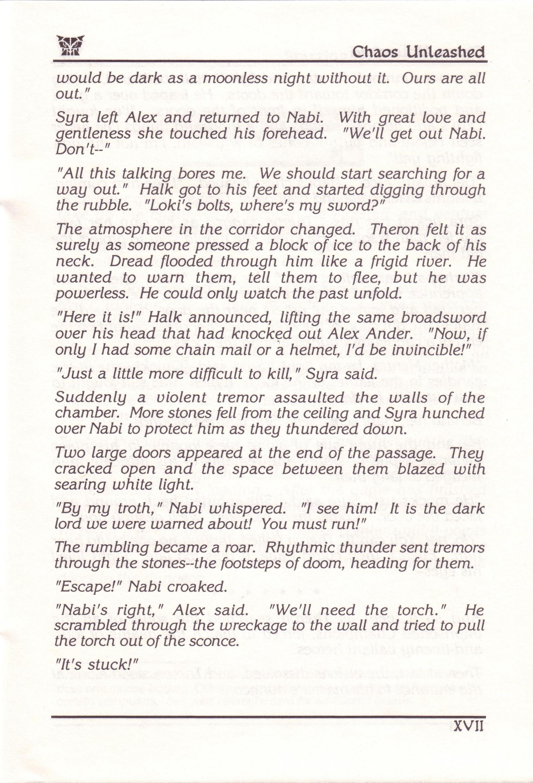 Dungeon Master for PC with FTL Sound Adapter (US Release) - Manual Page 23