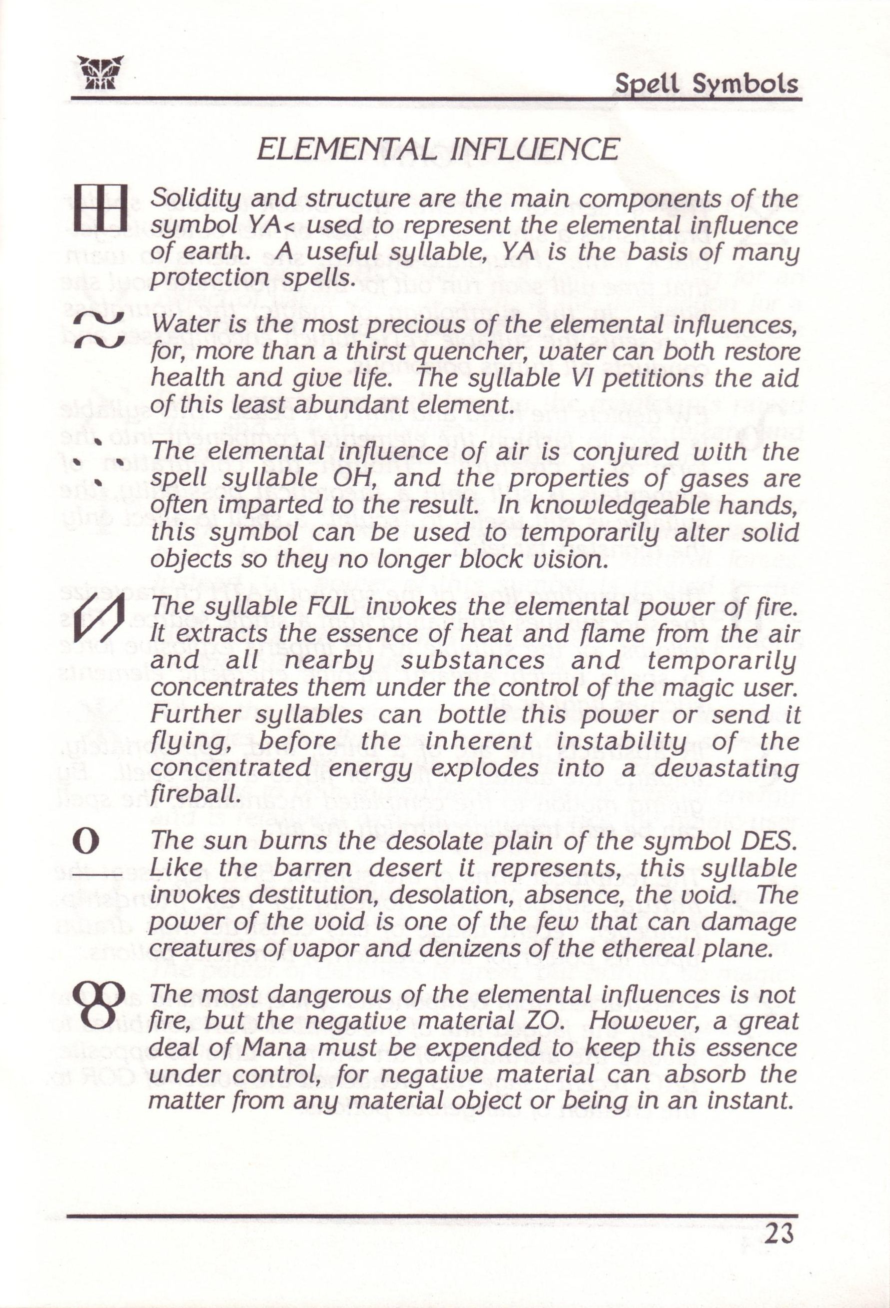 Dungeon Master for PC with FTL Sound Adapter (US Release) - Manual Page 47