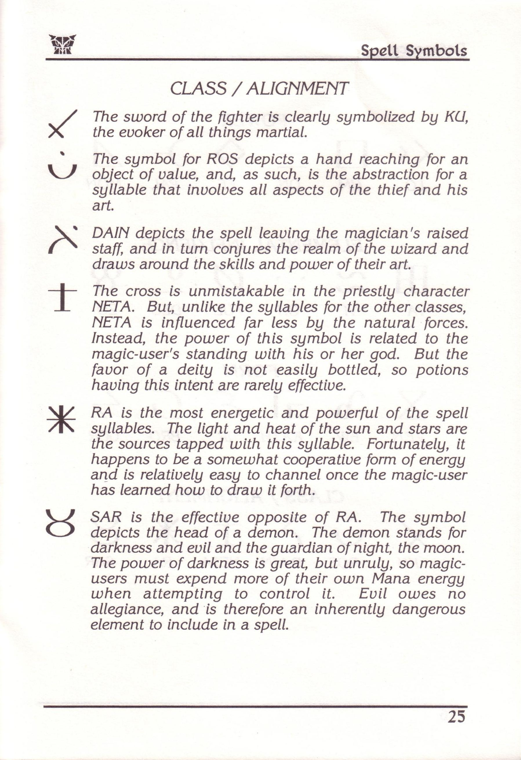 Dungeon Master for PC with FTL Sound Adapter (US Release) - Manual Page 49