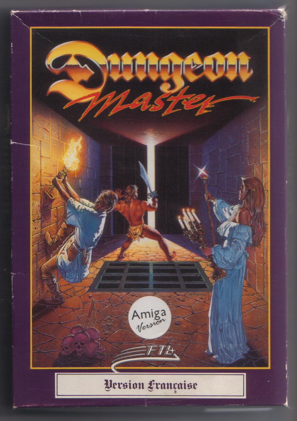 Dungeon Master for Amiga (French) - Box Front