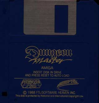 Dungeon Master for Amiga - Disk Alternate