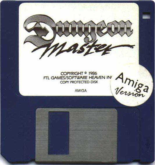 Dungeon Master for Amiga (Original release) - Disk