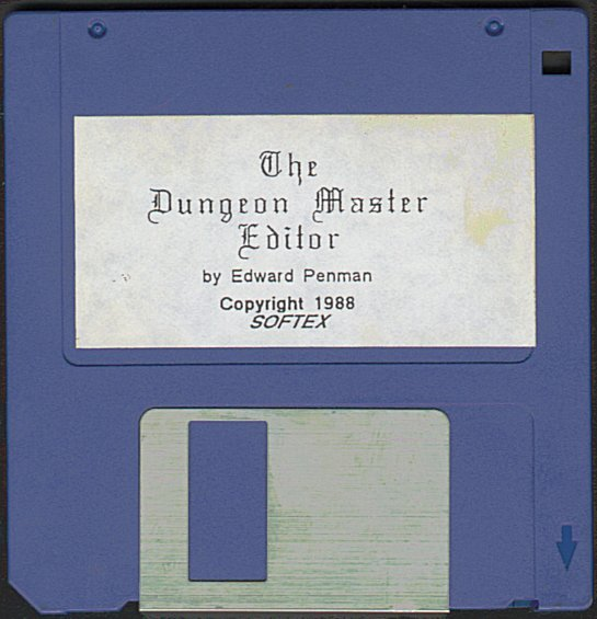 The Dungeon Master Editor Amiga Disk