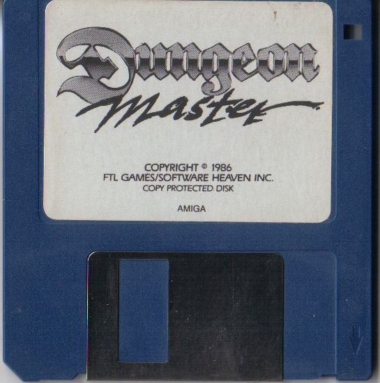 Dungeon Master for Amiga - Version 2.0 French Disk (Alternate)