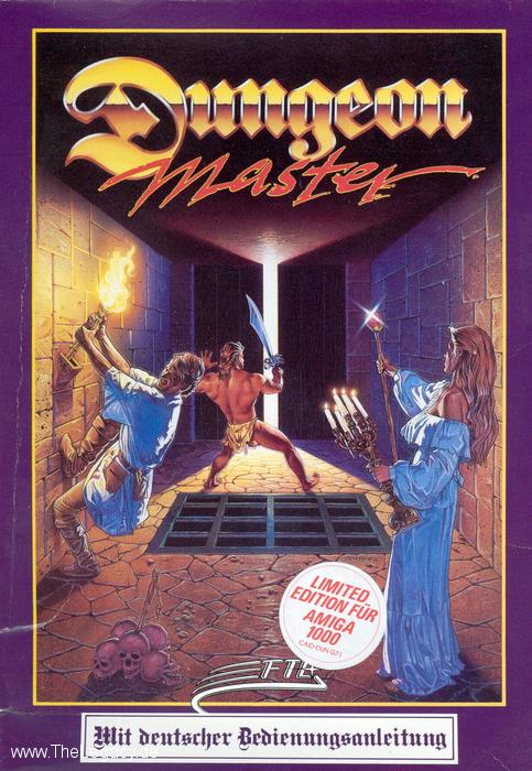 Dungeon Master for Amiga (German) - Box Front