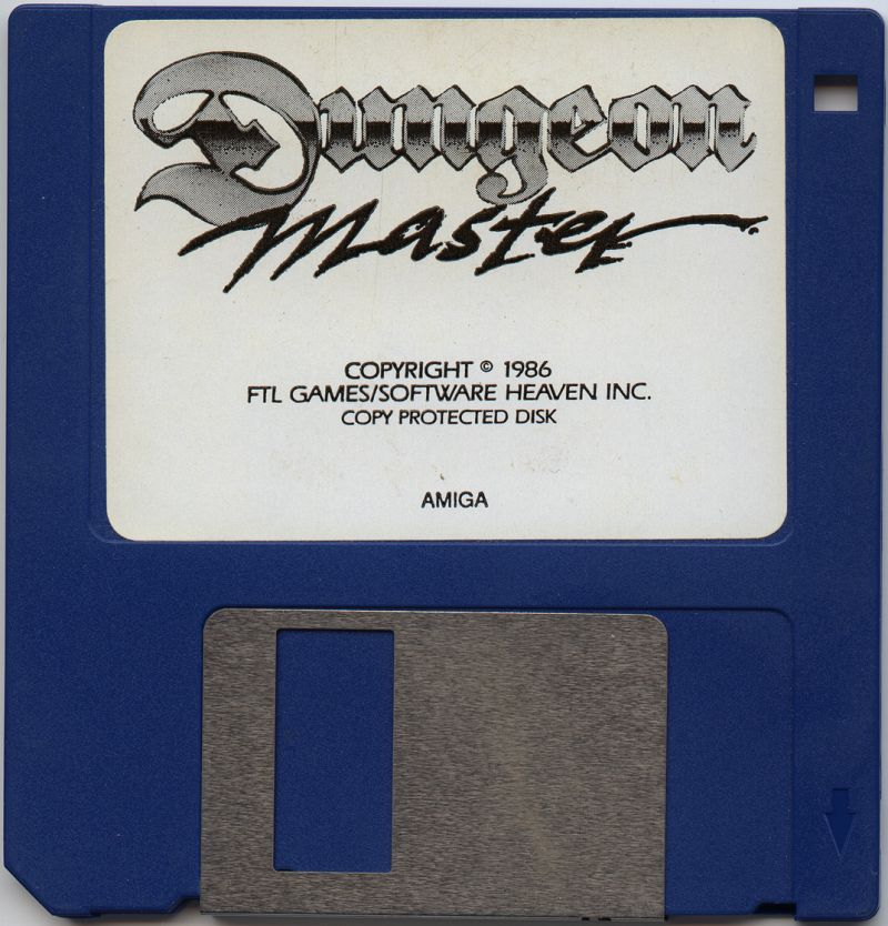 Dungeon Master for Amiga (English, Germany) - Disk