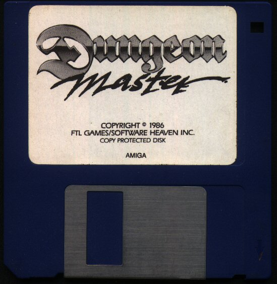 Dungeon Master for Amiga (Original release) - Version 2.0 French Disk