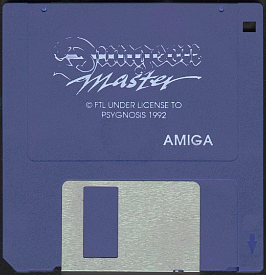 Dungeon Master and Chaos Strikes Back Compilation for Amiga - Dungeon Master Disk