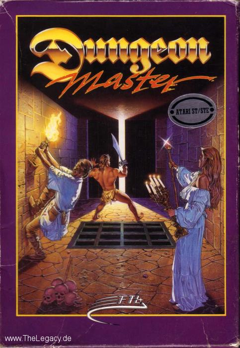 Dungeon Master for Atari ST (US) - Box Front