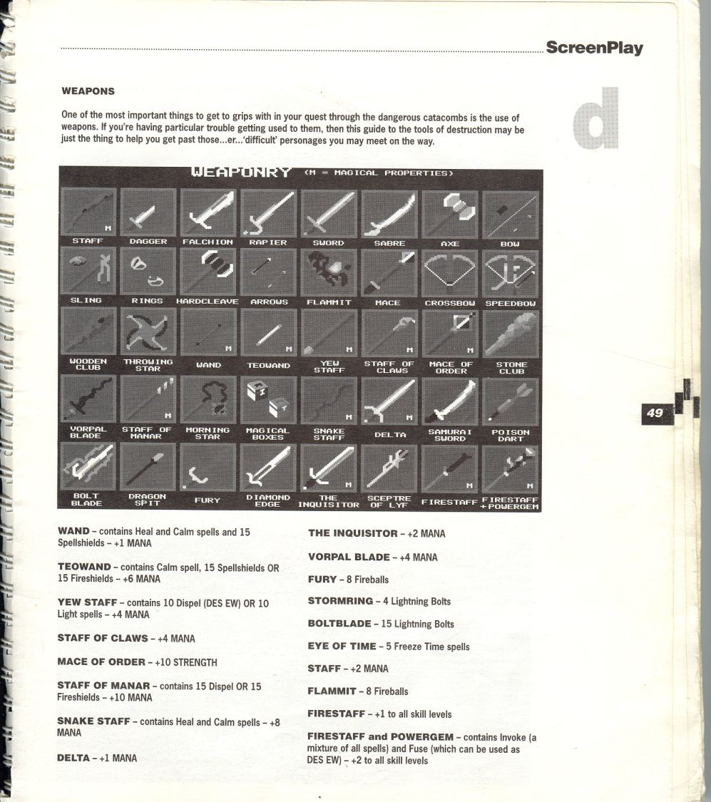 A guide by Bryan Stevens printed in the 'Screen Play' tips book by Amiga Format and Future Publishing Page 2