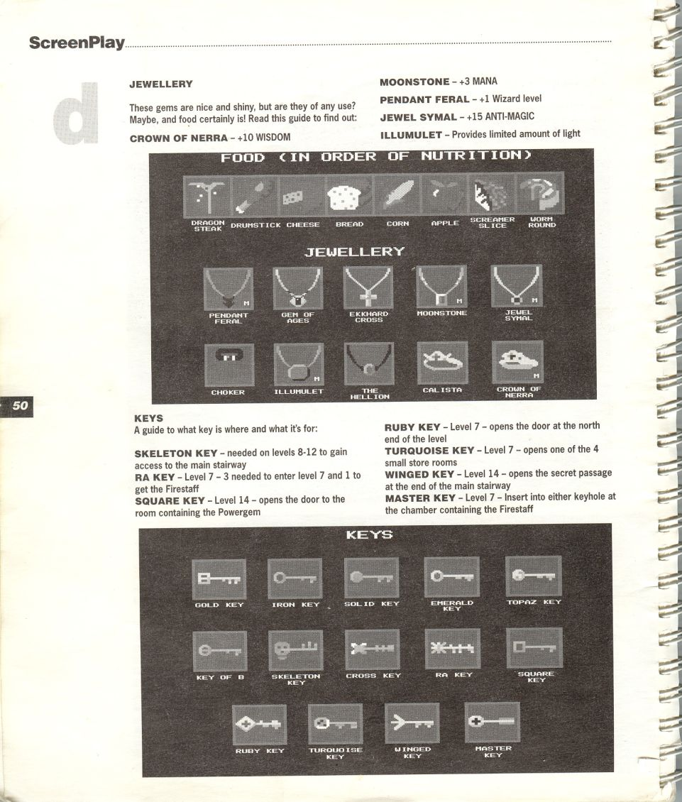 A guide by Bryan Stevens printed in the 'Screen Play' tips book by Amiga Format and Future Publishing Page 3