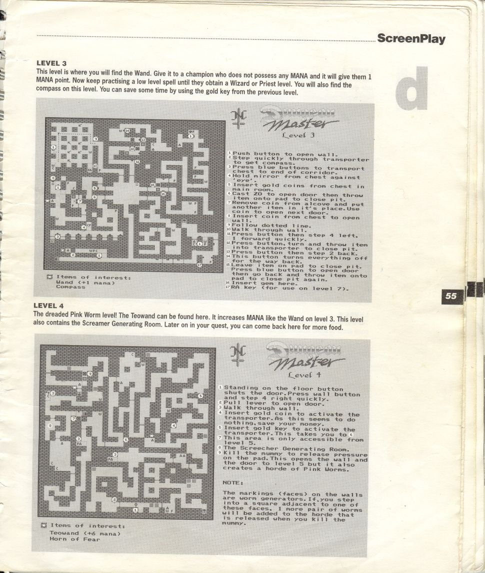 A guide by Bryan Stevens printed in the 'Screen Play' tips book by Amiga Format and Future Publishing Page 8