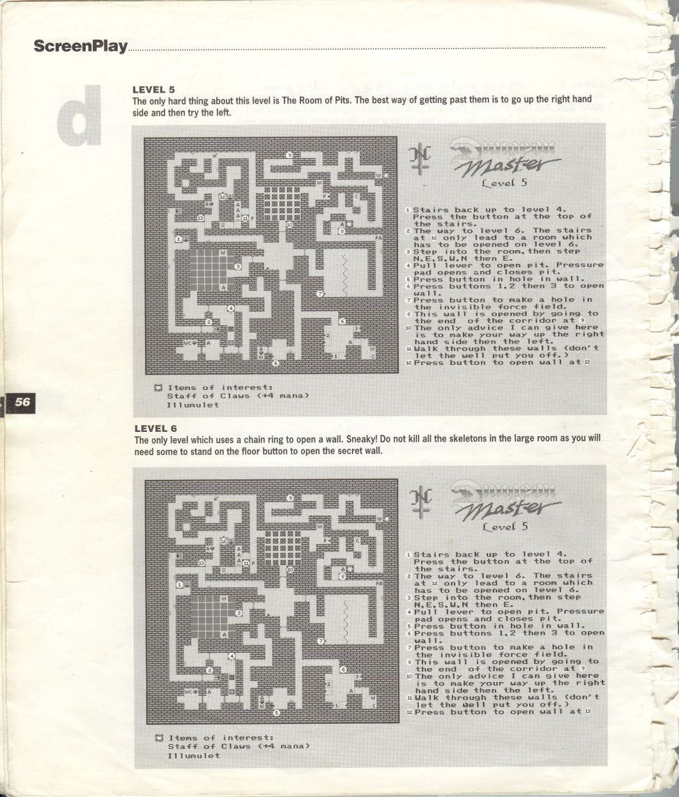 A guide by Bryan Stevens printed in the 'Screen Play' tips book by Amiga Format and Future Publishing Page 9