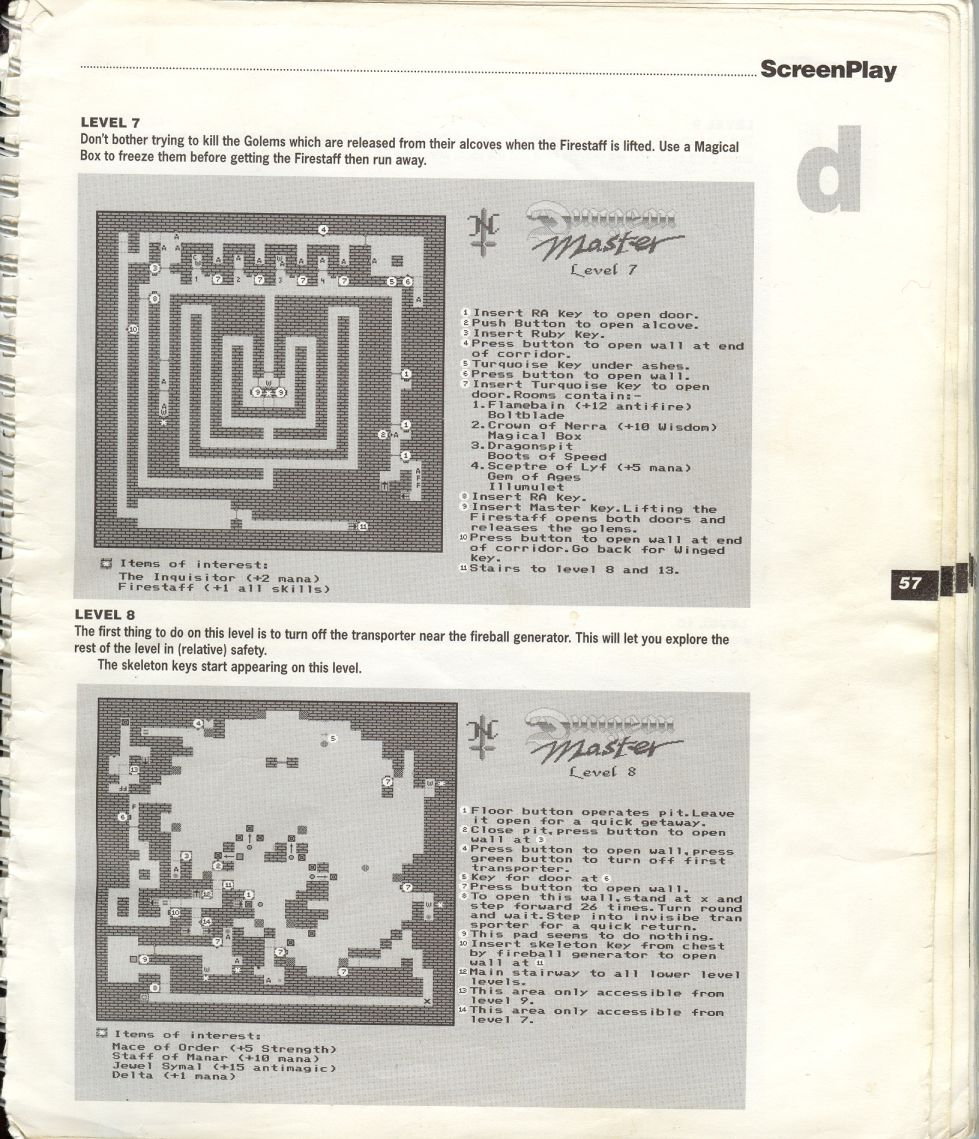 A guide by Bryan Stevens printed in the 'Screen Play' tips book by Amiga Format and Future Publishing Page 10