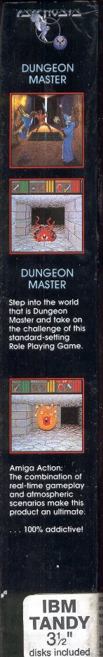 Dungeon Master for PC - Box Side