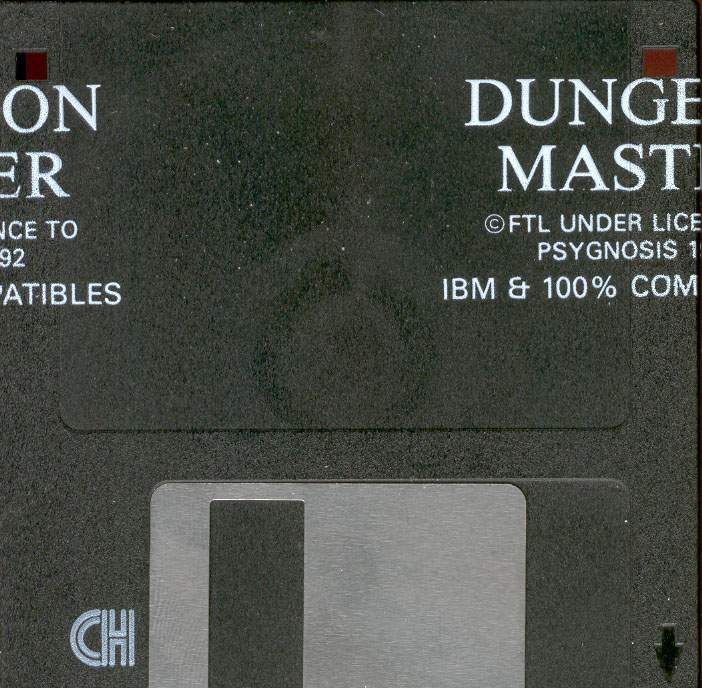 Dungeon Master for PC - Disk