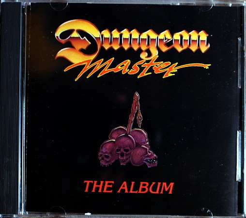 Dungeon Master The Album CD Box Front