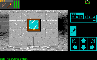 Dungeon Master for Amiga version 2.0 Screenshot - In game