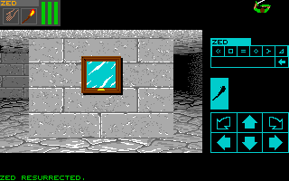 Dungeon Master for Apple IIGS Screenshot - In game