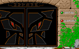 Dungeon Master for Atari ST Screenshot - Main menu