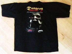 Dungeon Master II T-Shirt - Back
