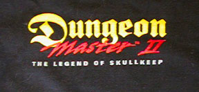 Dungeon Master II T-Shirt - Front Detail