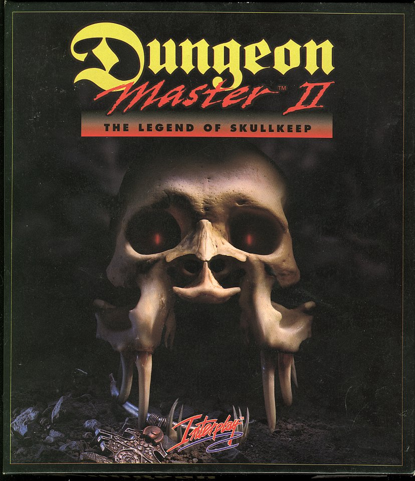 Dungeon Master II for Amiga - Box Front