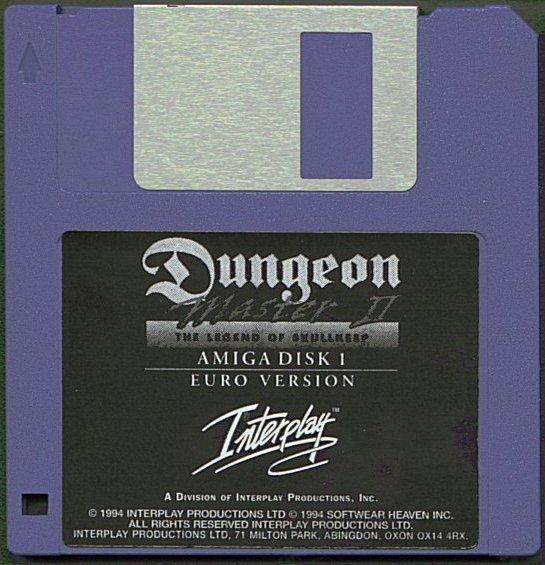Dungeon Master II for Amiga Disk 1