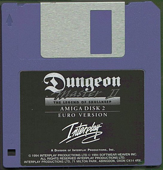 Dungeon Master II for Amiga Disk 2