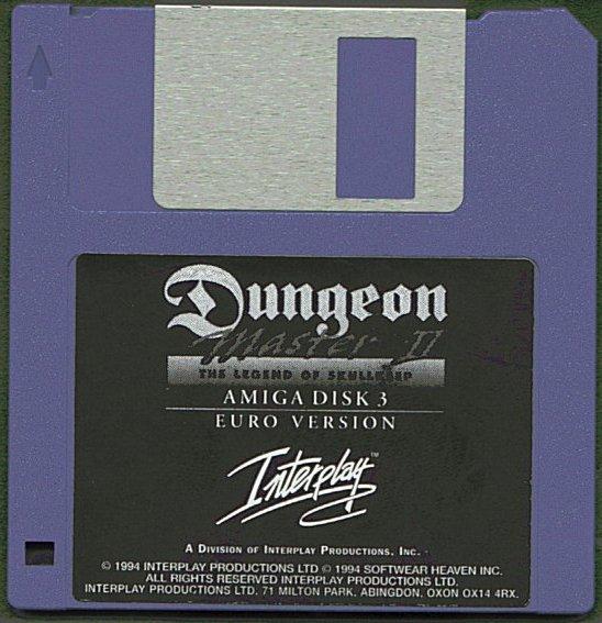Dungeon Master II for Amiga Disk 3