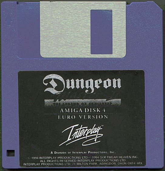 Dungeon Master II for Amiga Disk 4