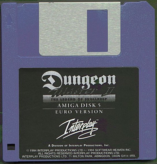 Dungeon Master II for Amiga Disk 5